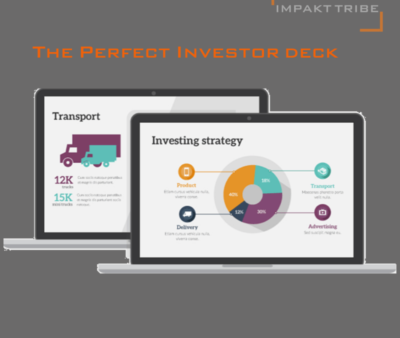 The perfect impact investor deck must read