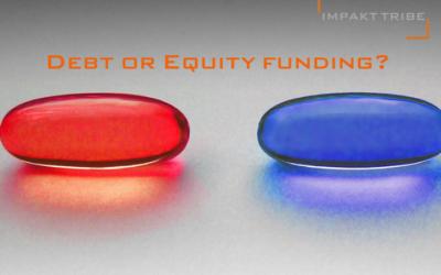 Neem jij de RODE pil of de BLAUWE pil van funding? De voor-nadelen