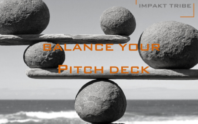 How to Balance your Pitch Deck!